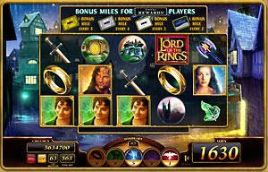 Lor of Rings Slot Machine Spin Palace