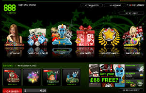 888 Casino Games List