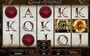 MapleCasino Game of Thrones