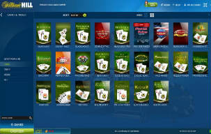 williamhill casino software screen