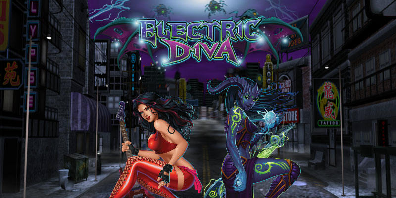 Play Electric Diva online slot