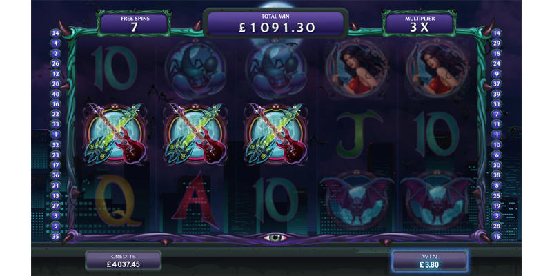 electric  diva slot game