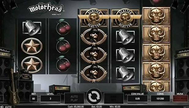 Motorhead Slot Machine Netent