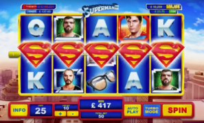 Playtech Release New Superman Slots