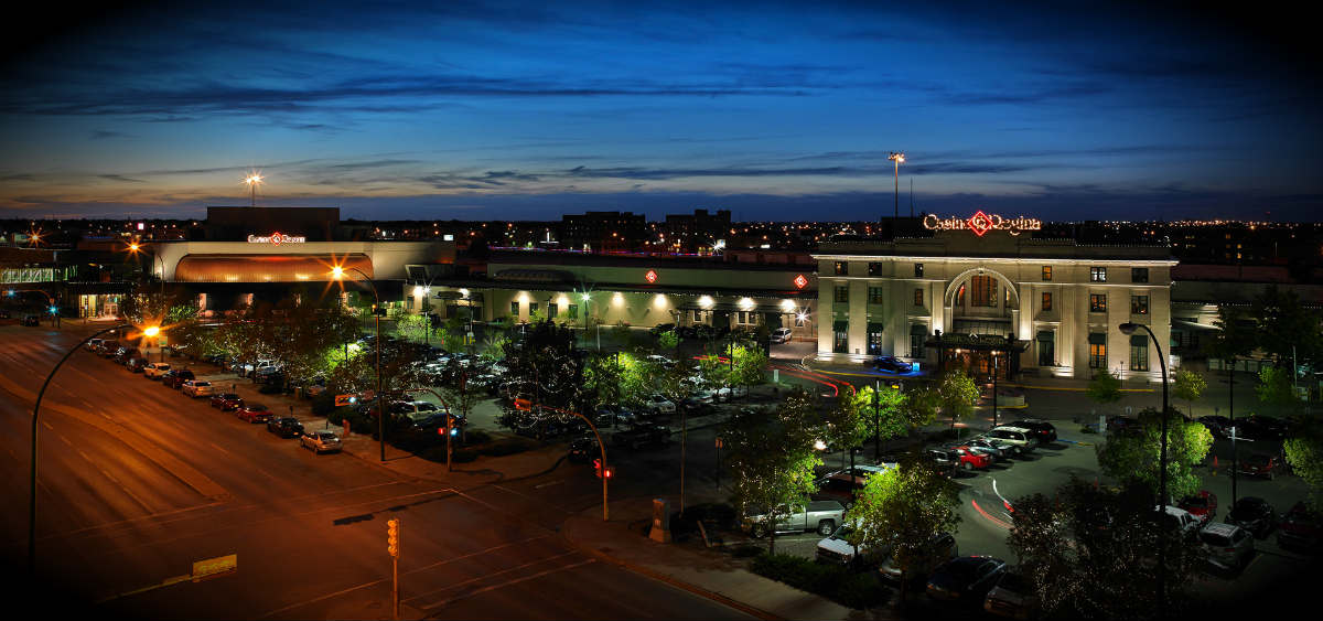 Casino Regina Night View