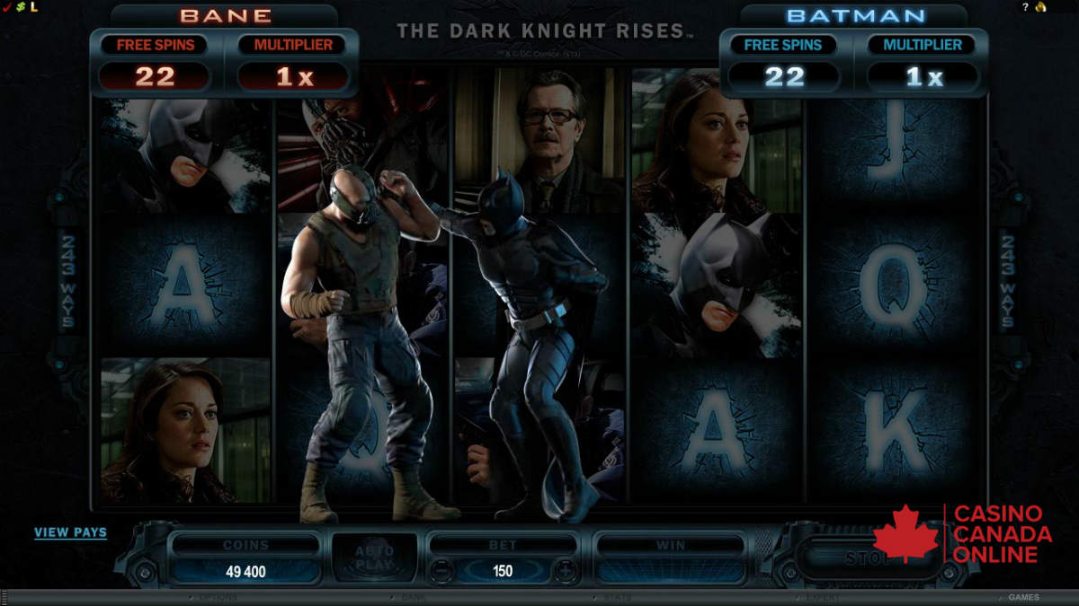 Dark Knight slot machine