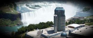 Niagara Fallsview Casino Helicopter View