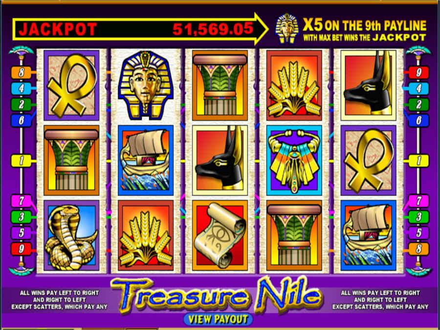 Treasure Nile Slot Machine