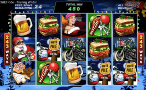 Santa's Wild Ride Slot - by Microgaming